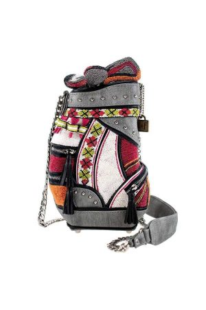 Don't Be Caddy Beaded Crossbody Golf Handbag