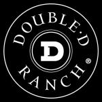 double d logo white