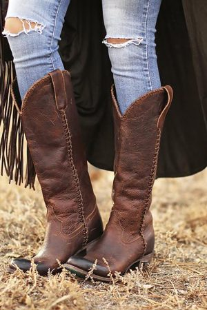 Plain Jane Cowgirl Boots