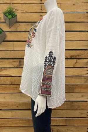 Anshi Silk Blouse
