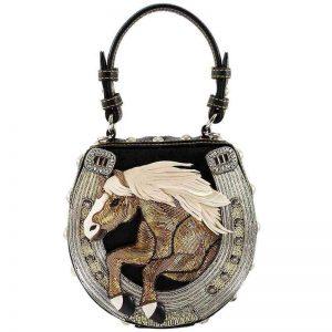 Mane Stay Embellished Horse Bag
