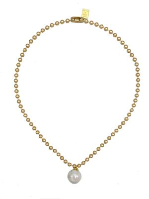 TAGALONG NECKLACE (GOLD)