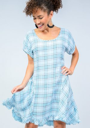 Plaid About Me Dress