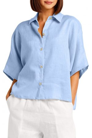 Handkerchief Linen Menswear Shirt