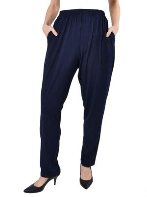 Slim Pant by Planet in Midnight Blue