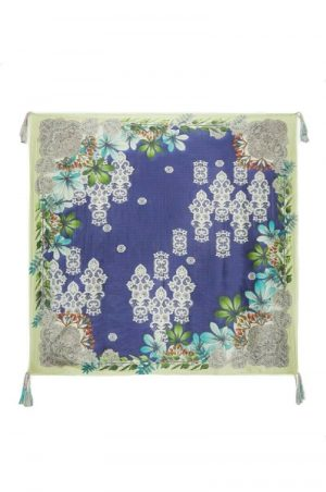 Lace Flora Scarf by Johnny Was