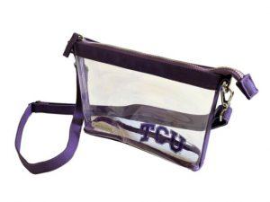 TCU Clear Crossbody Bag (Stadium Approved)