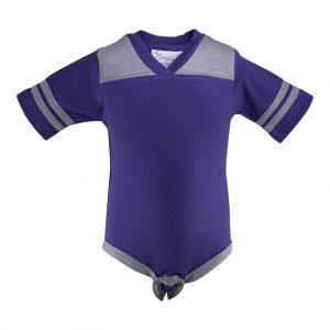 TCU Infant Football Creeper