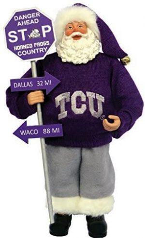 TCU Country Santa