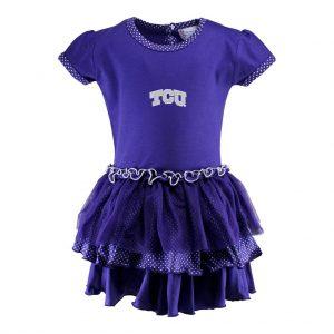 TCU Pin Dot Tutu Dress