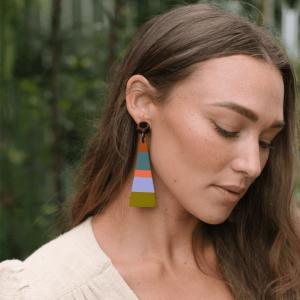 West Triangle Earrings