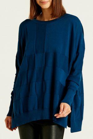 Pima Cotton Box Weave Sweater
