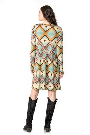 Pack Saddle Blanket Dress
