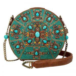 Bejeweled Handbag