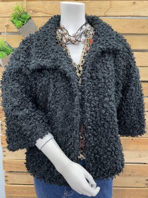 Curly Faux Fur Jacket