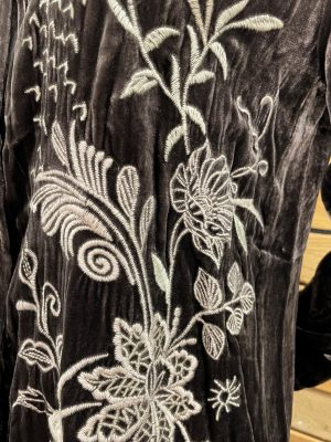 Maree Velvet Oversized Shirt