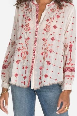 Tinsley Blouse by Johnny Was