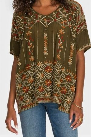 Aubrey Blouse by Johnny Was