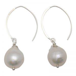 Edison Open Hoop Earrings