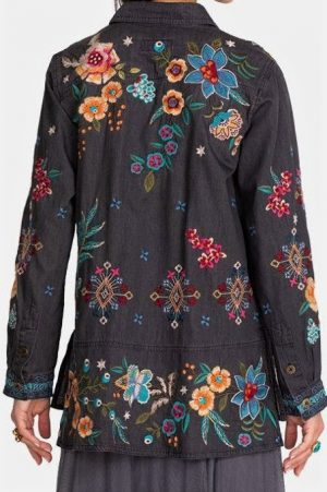 Francisca Denim Shirt Jacket